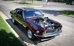 muscle car engines
